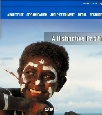 Pacific Island Development Forum – Customised Google Mapping Module