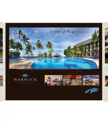 The Warwick Fiji – Expo Displays/Brochures/Advertising